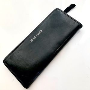 Authentic Cole Haan Slim Leather Wallet